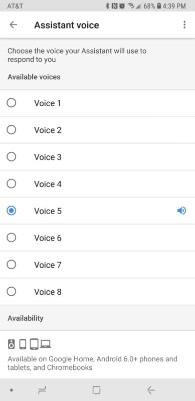 Google Assistants New Voice