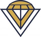 Modern Diamond vector logo design template inspiration. Event planner, wedding planner, wedding coordinator, party planner